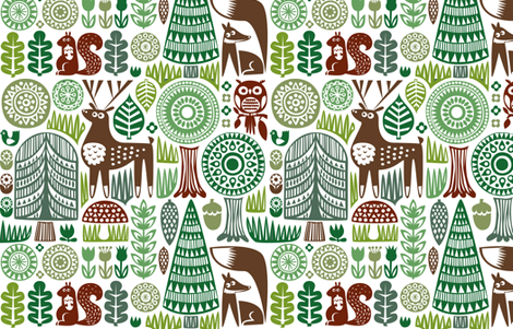 forestspoonflower2-04 fabric by dennisthebadger on Spoonflower - custom fabric