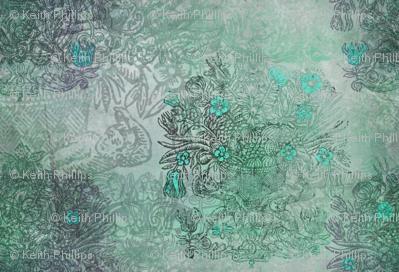 Rococo - Blue Green