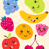 Sweet and Happy fruits