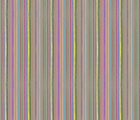 Echinacea Stripes fabric by coloroncloth on Spoonflower - custom fabric