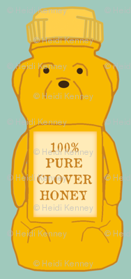honey bear blue