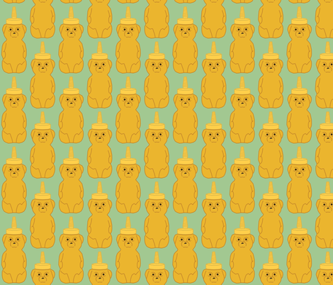honeybears fabric by heidikenney on Spoonflower - custom fabric