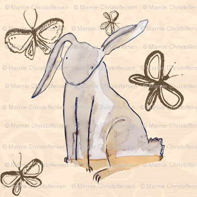 Flutterby Rabbit