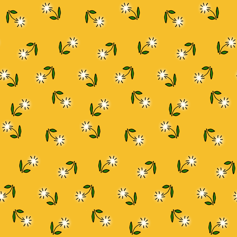 Dandelions fabric by pond_ripple on Spoonflower - custom fabric