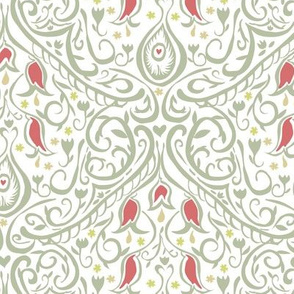 Freehand Damask 2