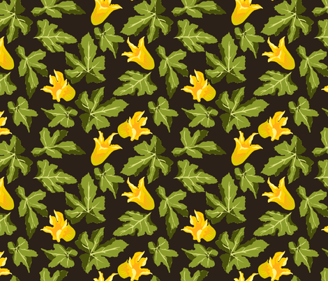 Zucchini fabric by marlene_pixley on Spoonflower - custom fabric