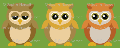 (Small) Baby Owl Friends