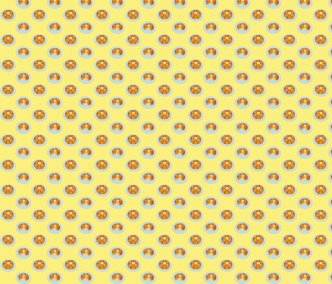 (Small) Breakfast Pancakes fabric by greencouchstudio on Spoonflower - custom fabric