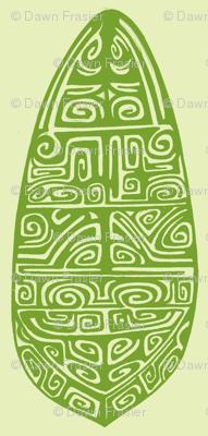 Polynesian, green