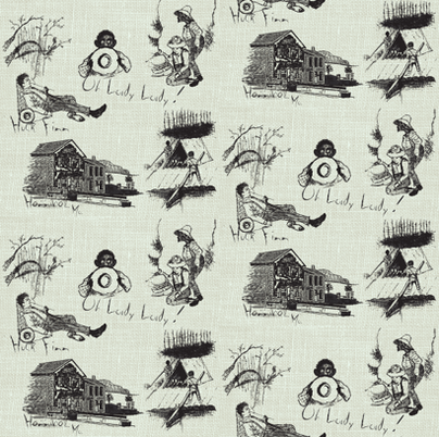Freedom / Black fabric by paragonstudios on Spoonflower - custom fabric