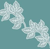 Rdiagonal-leaves-white-outline-6in-seaf-teal_shop_thumb