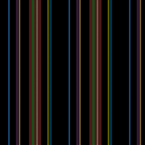 ©2011 Vertical Stripes fabric by glimmericks on Spoonflower - custom fabric