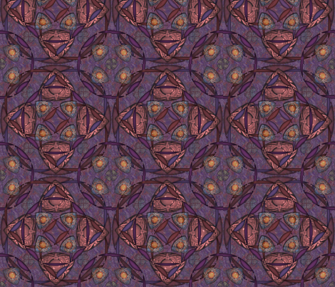 ©2011 Purples fabric by glimmericks on Spoonflower - custom fabric