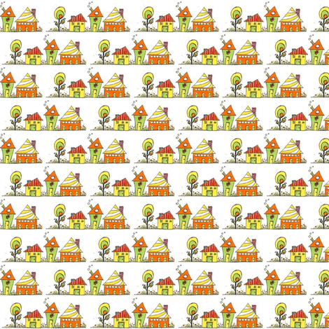 Orange_House fabric by orangesweater on Spoonflower - custom fabric