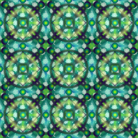 ©2011 Mutant shamrock 2 fabric by glimmericks on Spoonflower - custom fabric
