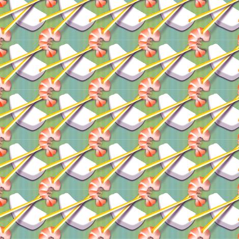 ©2011 sushi fabric by glimmericks on Spoonflower - custom fabric