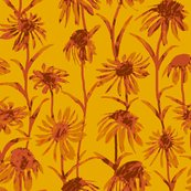 Rflowers_orange_painted_tile_8by8_revised_color_shop_thumb