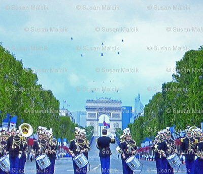 Bastille Day Parade with Helicopter Flyover, Paris 2012 - 2