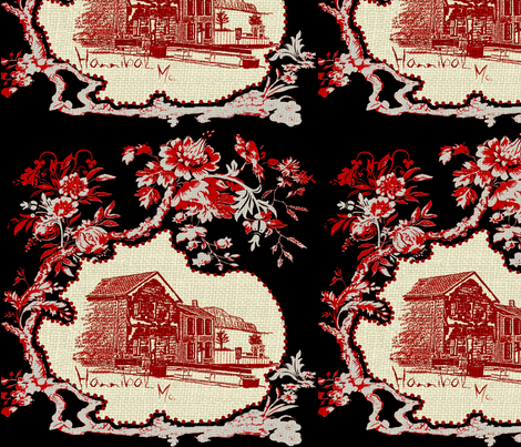 Mark Twain House fabric by paragonstudios on Spoonflower - custom fabric