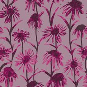 Rflowers_and_leaves_pink_painted_tile_8by8_shop_thumb