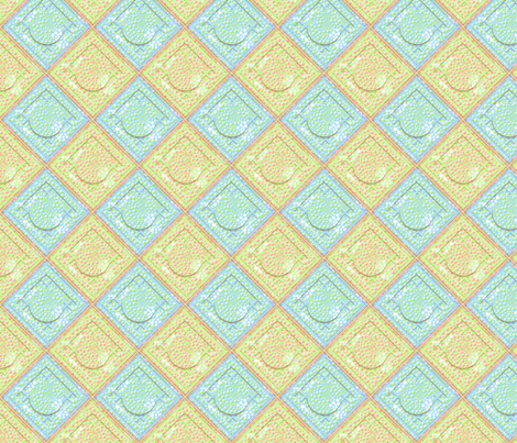 ©2011 dot quilt fabric by glimmericks on Spoonflower - custom fabric