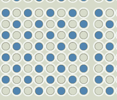 Nautical Blue fabric by poetryqn on Spoonflower - custom fabric