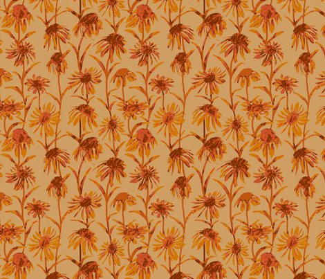 Rflowers_orange_dull__tile_8x8_revised_color_shop_preview