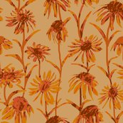 Rflowers_orange_dull__tile_8x8_revised_color_shop_thumb