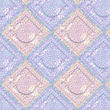 ©2011 dot quilt 2 fabric by glimmericks on Spoonflower - custom fabric