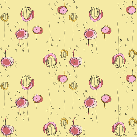 FuJing Spring fabric by joybucket on Spoonflower - custom fabric