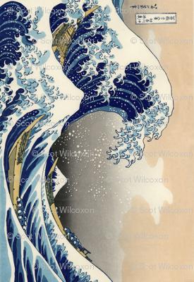 Great Wave off Kanagawa 42h 61w repeats