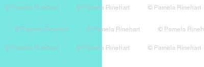 turquoise white 1 inch stripe
