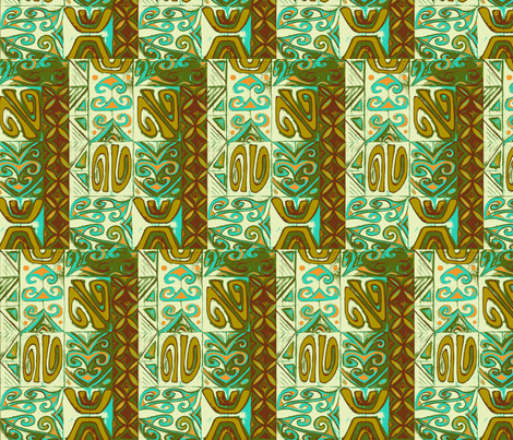 Mod-pa    driftwood fabric by sophista-tiki on Spoonflower - custom fabric