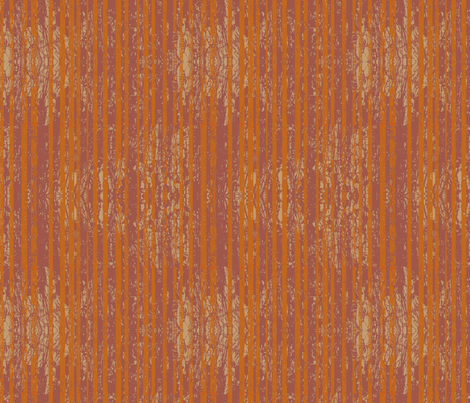 Orange Stripes fabric by coloroncloth on Spoonflower - custom fabric