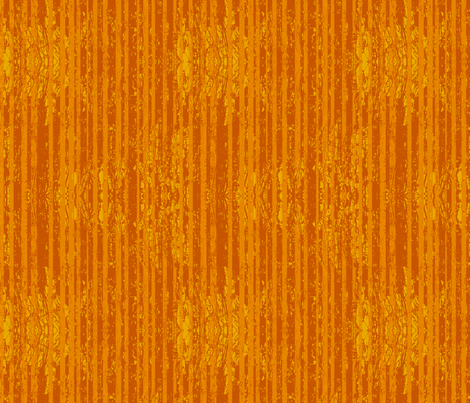 Orange Stripes - Bright fabric by coloroncloth on Spoonflower - custom fabric