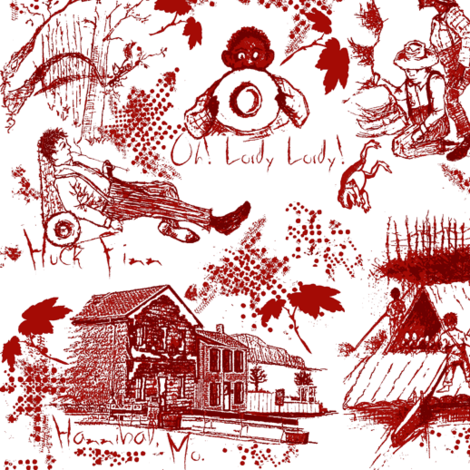 Huck Finn fabric by paragonstudios on Spoonflower - custom fabric