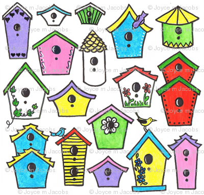 Bird House Fun