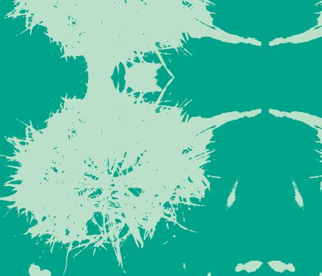 blowaway/blue fabric by arteija on Spoonflower - custom fabric