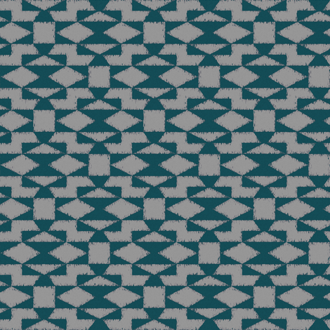 navajo inspired geometric print fabric by ravynka on Spoonflower - custom fabric