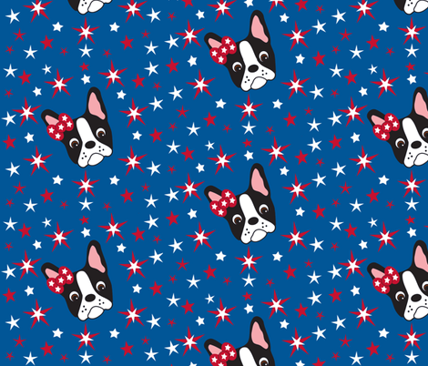 Twinkle, Twinkle Dottie Stars fabric by missyq on Spoonflower - custom fabric