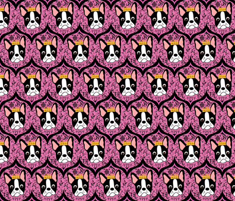 Pretty Pink Princess Daisy fabric by missyq on Spoonflower - custom fabric
