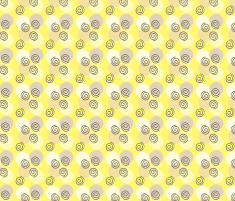 Sunshine and Shadow Coord fabric by cksstudio80 on Spoonflower - custom fabric