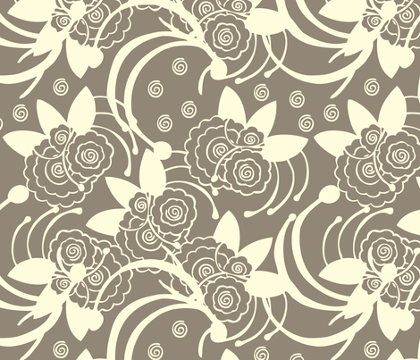 Shadow Play fabric by cksstudio80 on Spoonflower - custom fabric