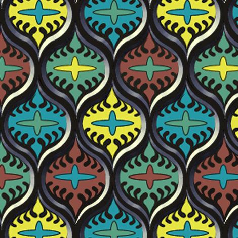 ©2011 Mesh fabric by glimmericks on Spoonflower - custom fabric