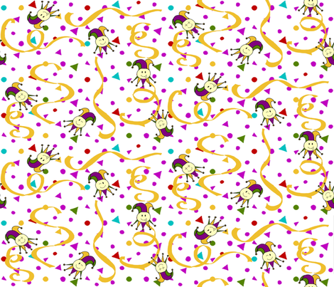 Confetti Smileys fabric by kdl on Spoonflower - custom fabric