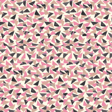 Abstract Triangle fabric by katehasteddesigns on Spoonflower - custom fabric