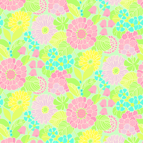 Ortrud B fabric by helena on Spoonflower - custom fabric