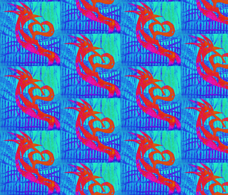 batik kokopelli fabric by paulamarie on Spoonflower - custom fabric