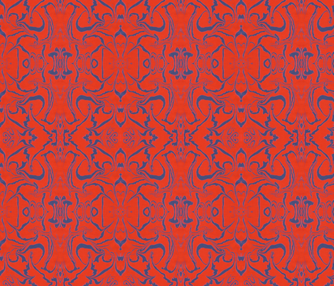 Retro Marbled Design