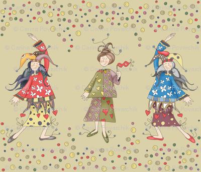 Lady Jokers - SMALL